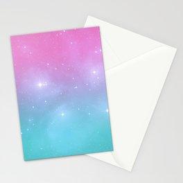 Pastel Goth Galaxy Stationery Cards