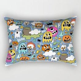 Ghosts of Halloween Rectangular Pillow