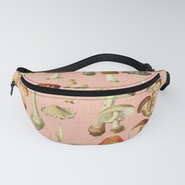 Mushrooms pink Fanny Pack