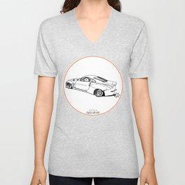Crazy Car Art 0200 Unisex V-Neck