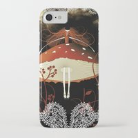 moulin rouge iPhone & iPod Cases featuring Rouge by zazacadabra
