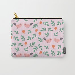 Birds and Pomegranate Carry-All Pouch