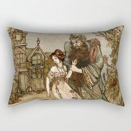Bluebeard Rectangular Pillow