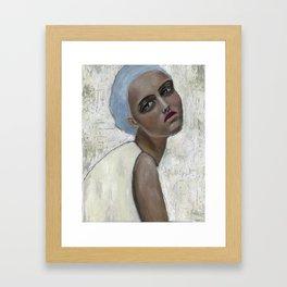 birthing the seed of desire Framed Art Print
