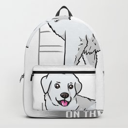 Great Pyrenees Gift For Dog Owners Backpack