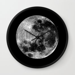 THE MOON - La lune Wall Clock