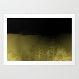 Forest-Mustard Art Print