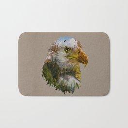 The American Bald Eagle Bath Mat