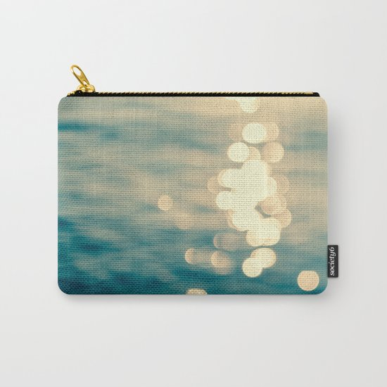 Blurred Tides Carry-All Pouch