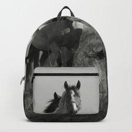 Cariboo Horses Backpack