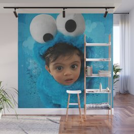 LEVi (cookie monster) Wall Mural