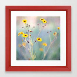 Summer Ballet Framed Art Print