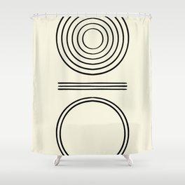 Life Balace II Shower Curtain