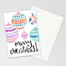 Christmas Ornament Stationery Cards