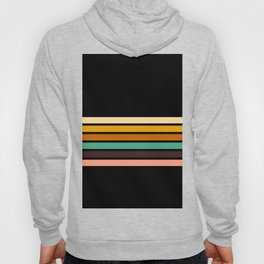 Minimal Retro lines of the Past Hoody