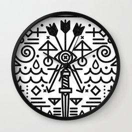 Eye of Vengence Wall Clock