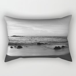 Sunset in Black and White 2 Rectangular Pillow
