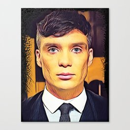 Thomas Shelby Canvas Print