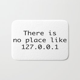 There is no place like home Bath Mat