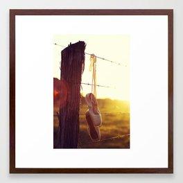 Country Ballet Framed Art Print