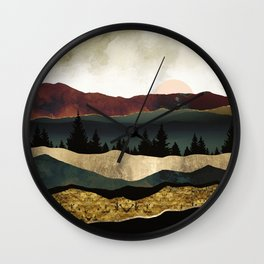 Early Autumn Wall Clock