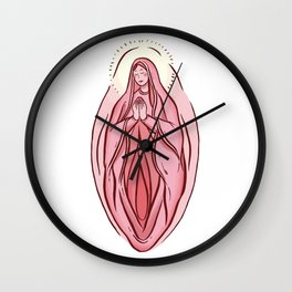 DIVINE PLEASURE Wall Clock