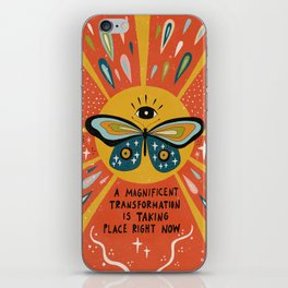 A magnificent transformation iPhone Skin