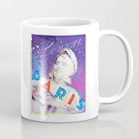 posters Mugs featuring Paris Posters - Napoleon by G_Stevenson