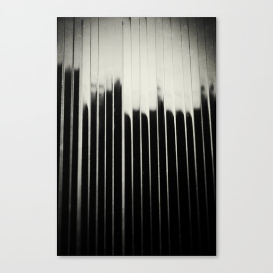 STEEL & MILK Canvas Print