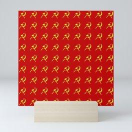 Hammer and sickle 2 - Faucille et marteau-серп и молот Mini Art Print