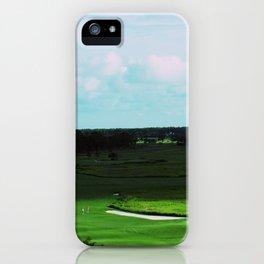 Golf Game Goals iPhone Case