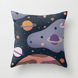 Cosmos #3 Throw Pillow