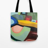 community Tote Bags featuring the community by sylvie demers