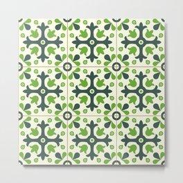 Decorations green Metal Print