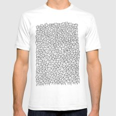 A Lot of Cats White Mens Fitted Tee MEDIUM