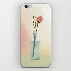 Flowers in Glass iPhone & iPod Skin