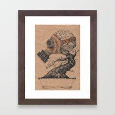 Education 3 Framed Art Print