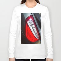 mercedes Long Sleeve T-shirts featuring Mercedes-Benz SL 63 AMG Bi-Turbo Back Light by Mauricio Santana