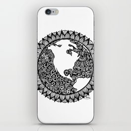 Zentangle - Zen World  iPhone Skin