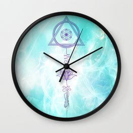 Into The Light Wall Clock