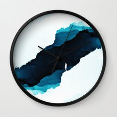 Teal Isolation Wall Clock