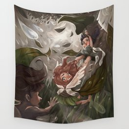 An Unlucky Day for Fairies Wall Tapestry