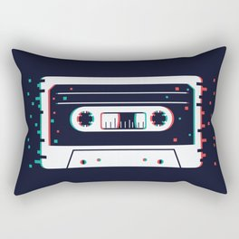 Vintage cassette Rectangular Pillow
