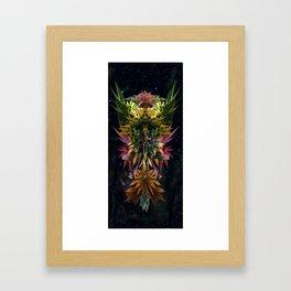Space Bud Framed Art Print