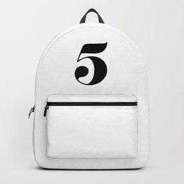 Number five Backpack