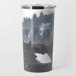 Winter Landscape - Hidden Valley Chalets Travel Mug