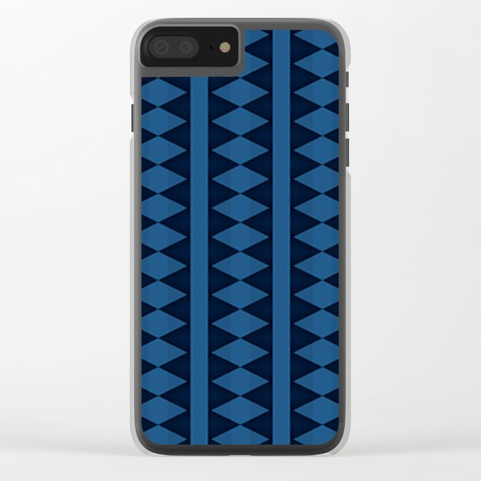 Seamless Pattern Clear iPhone Case