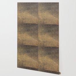 Black Yellow Sandpaper Texture Wallpaper