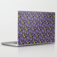 poe Laptop & iPad Skins featuring poe by Jose Campa
