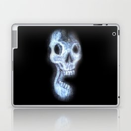 Wood Skull Laptop & iPad Skin